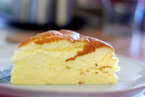 Cheesecake giapponese con 3 ingredienti